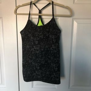 gym top with built in bra